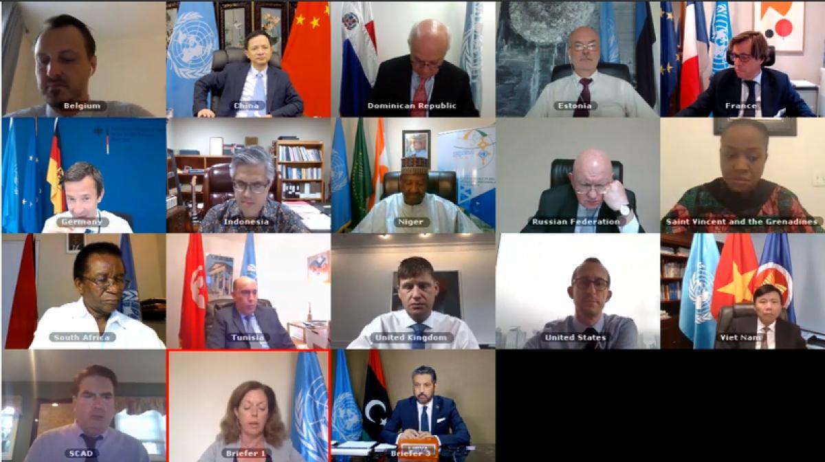 Hội đồng Bảo an họp về tình hình Libya.