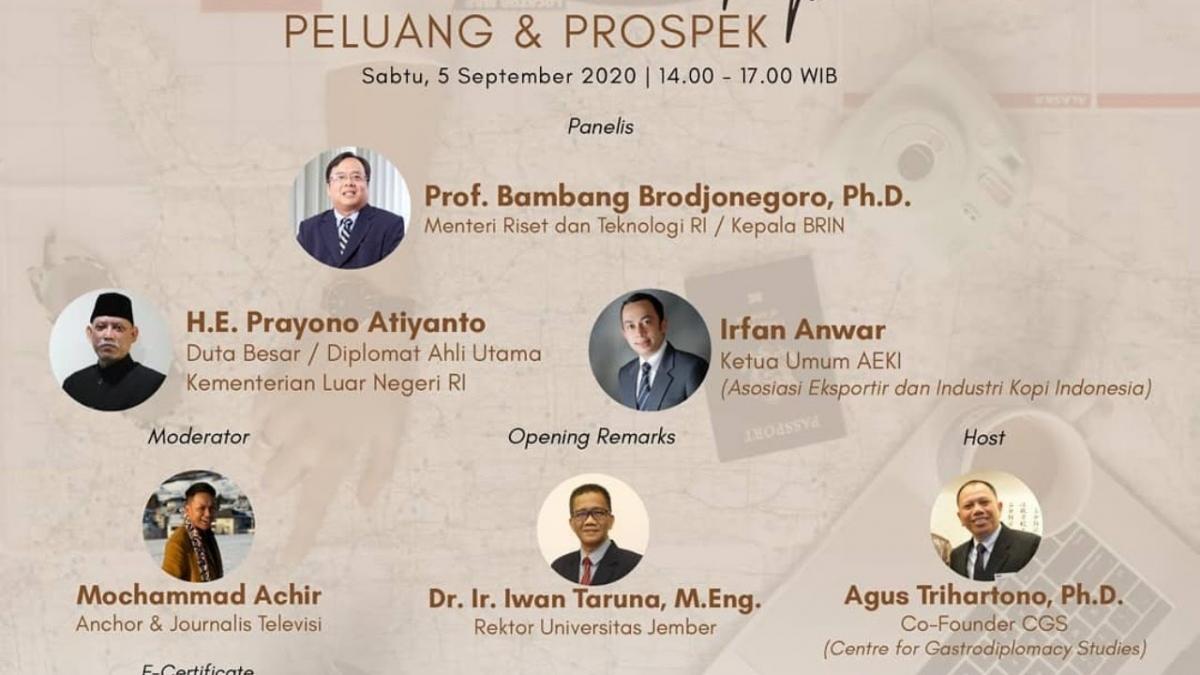 """Hội thảo trực tuyến """"Indonesia trên bản đồ cà phê thế giới: Cơ hội và triển vọng"""" (Ảnh: Abs)"""
