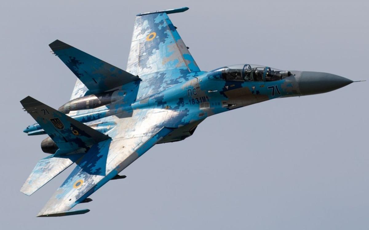 Chiến đấu cơ Su-27. Ảnh: Jakub Ruzek.