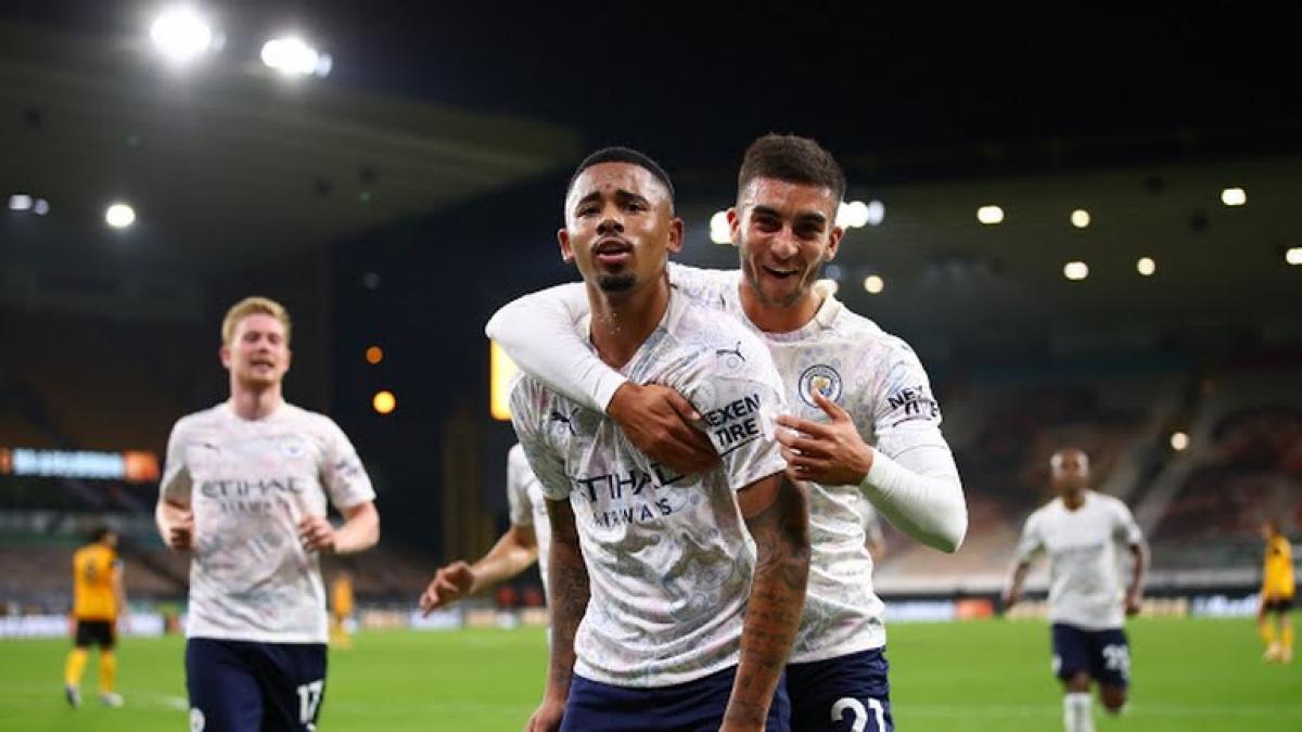 Man City có khởi đầu thuận lợi ở Ngoại hạng Anh với chiến thắng trước Wolves. (Ảnh: Reuters).