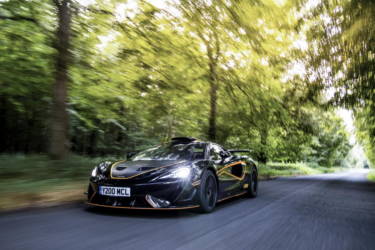Mẫu xe đua này sở hữu sức mạnh 612 mã lực và mô-men xoắn cực đại 620 Nm, được tạo ra bởi động cơ V8 tăng áp kép, dung tích 3.8 lít (M838TE). Để có được sức mạnh này, các kỹ sư của McLaren tại Working, Anh Quốc đã phải tinh chỉnh lại ECU cũng như bộ tăng áp của động cơ này.