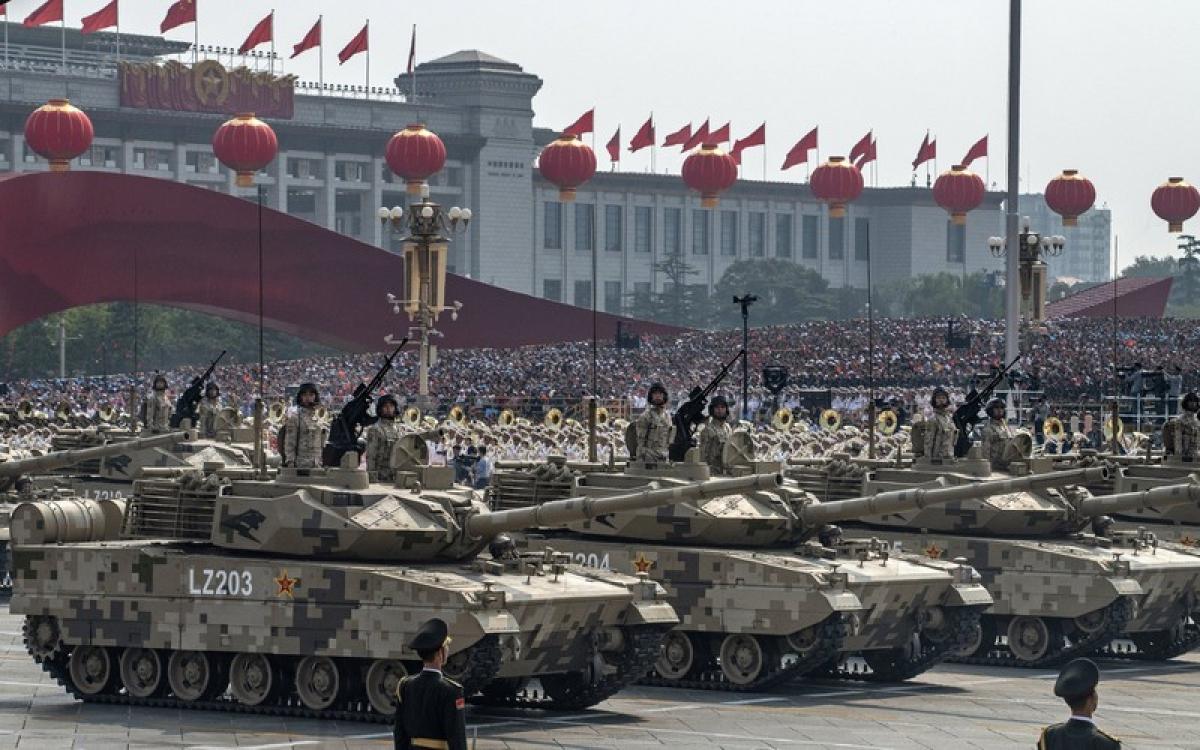 Trung Quốc chỉ trích Báo cáo sức mạnh quân sự Trung Quốc 2020 của Mỹ. (Ảnh: Getty)