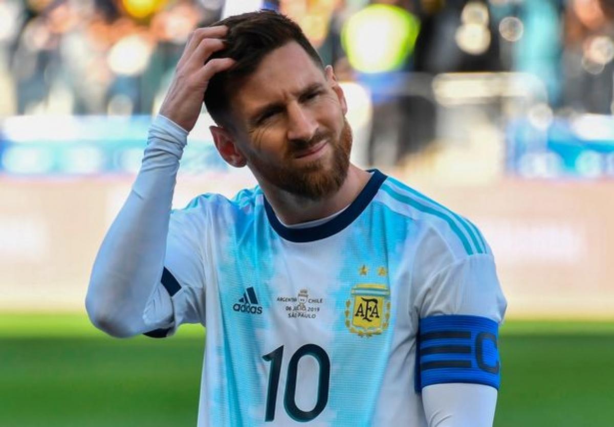 Messi có nguy cơ lỡ trận đấu El Clasico lượt đi mùa giải năm nay (Ảnh: Getty Images).