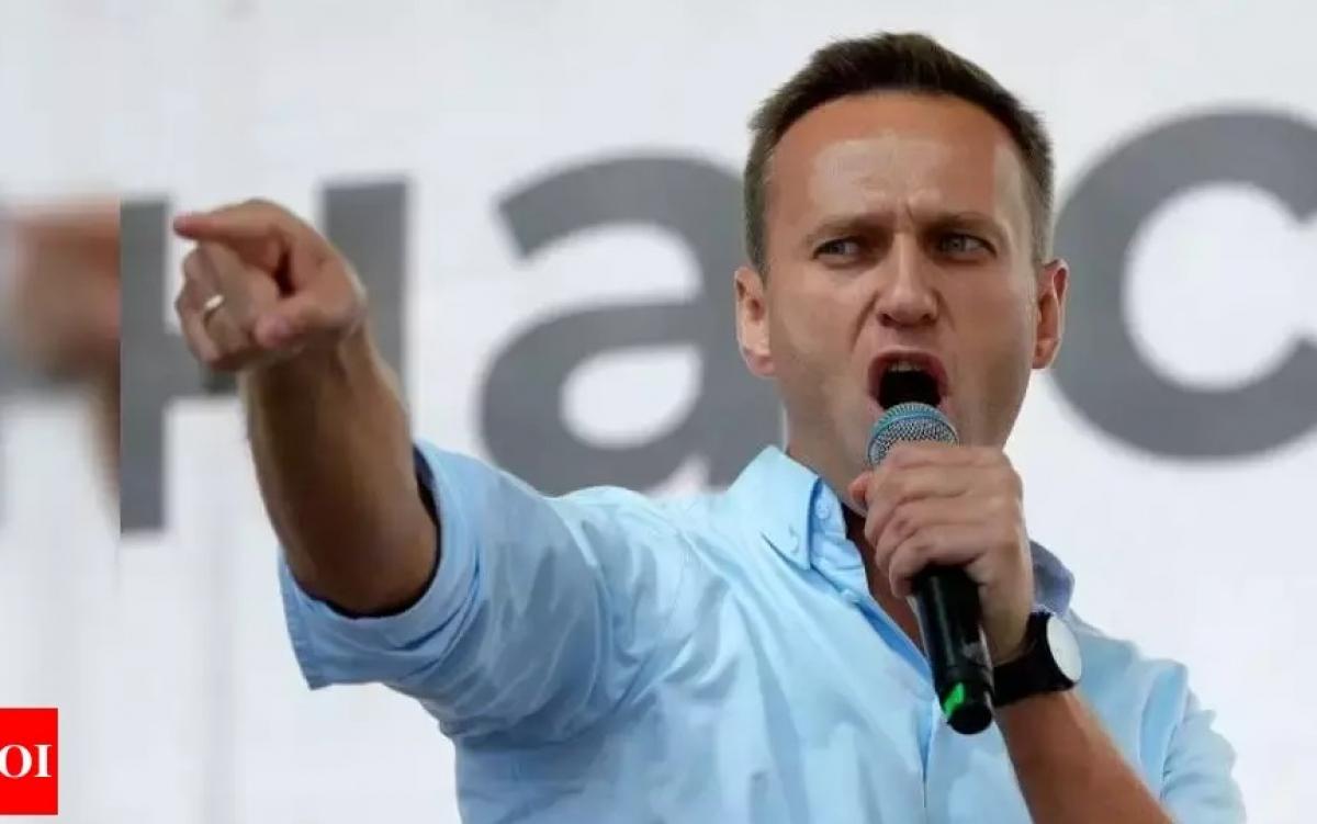 Thủ lĩnh đối lập Nga Navalny. Ảnh: Toi.
