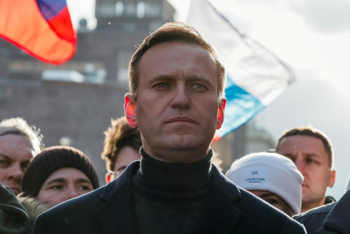 Nhân vật chính trị đối lập Nga Alexei Navalny. Ảnh: Reuters.