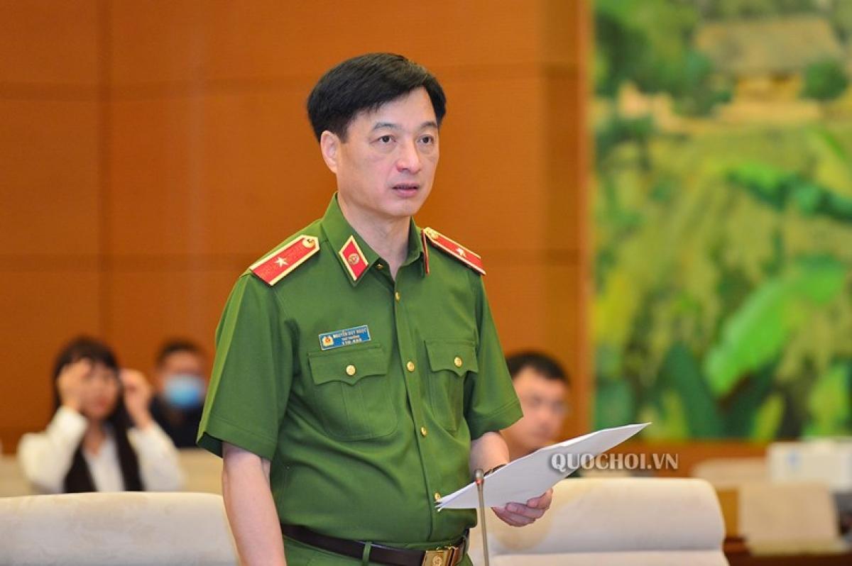 Thứ trưởng Bộ Công an Nguyễn Duy Ngọc