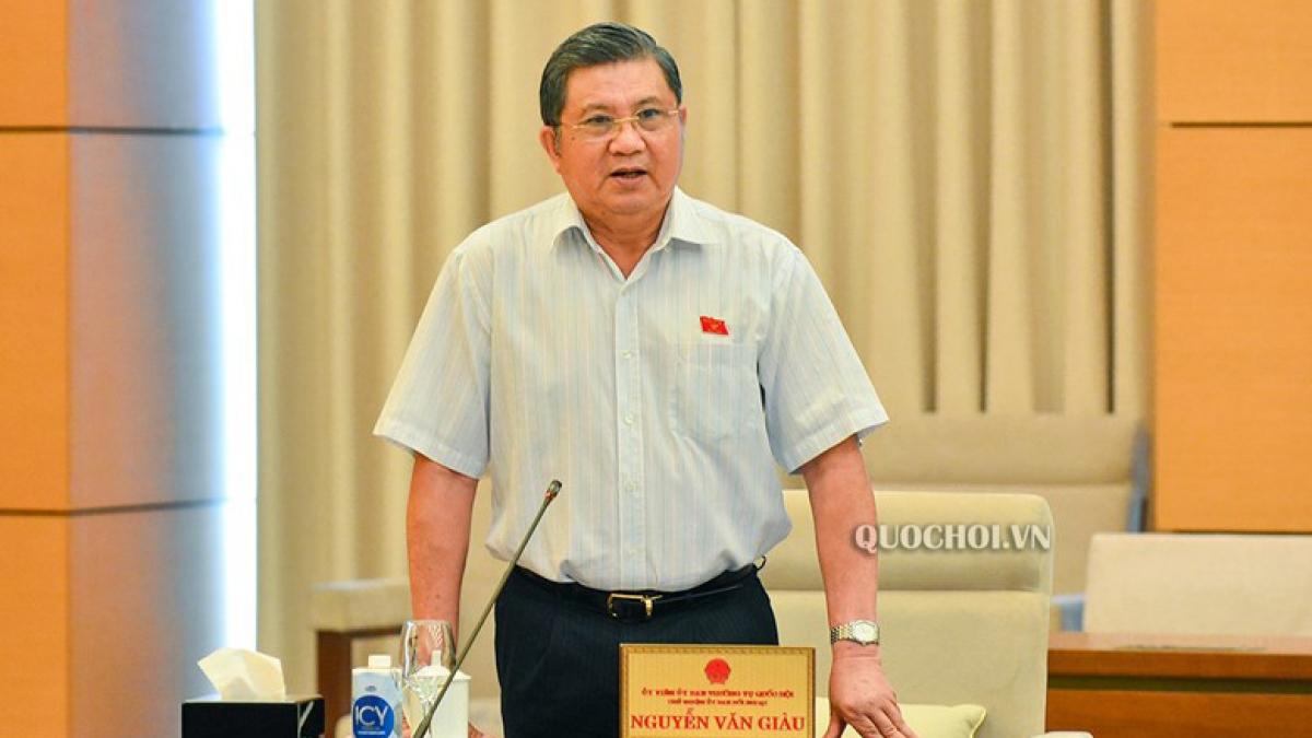 Chủ nhiệm Uỷ ban Đối ngoại Nguyễn Văn Giàu
