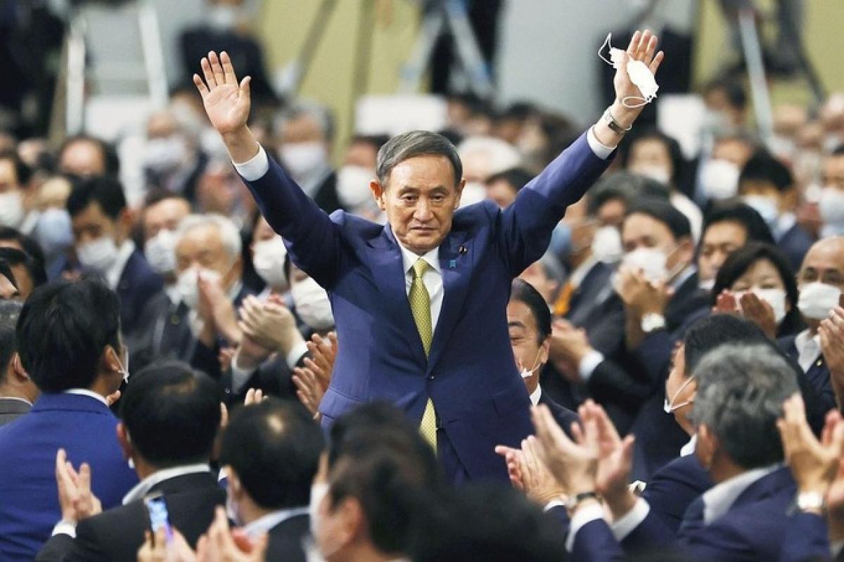 Ông Yoshihide Suga.Ảnh: Reuters.