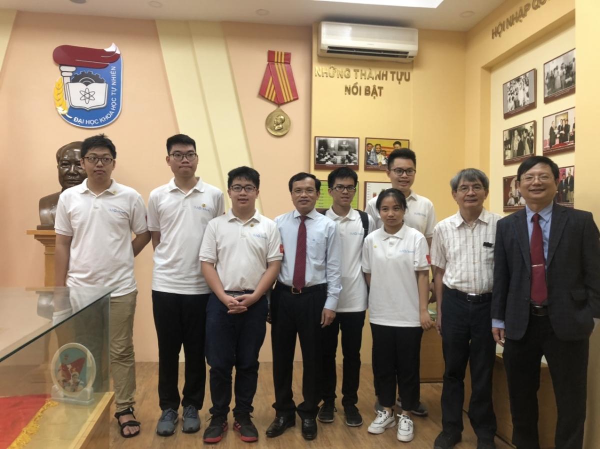 Đội tuyển quốc gia Việt Nam tham dự kỳ thi Olympic Toán học quốc tế lần thứ 61 năm 2020.