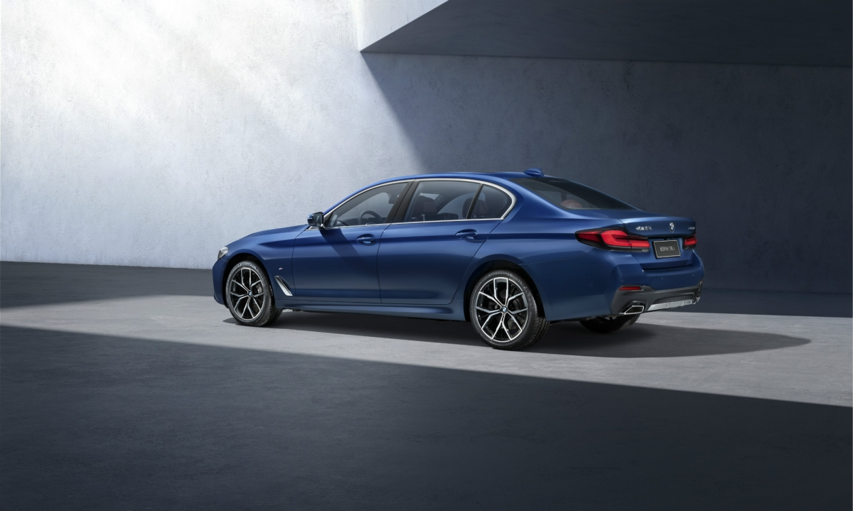 BMW 5-Series 2021 phiên bản trục cơ sở dài.