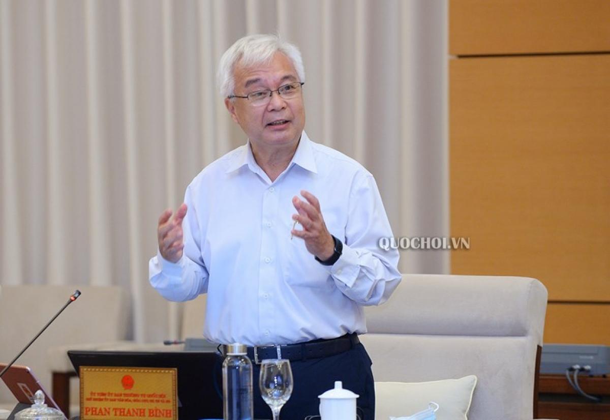 Ông Phan Thanh Bình - Chủ nhiệm Uỷ ban VH-GD-TN-TN-NĐ