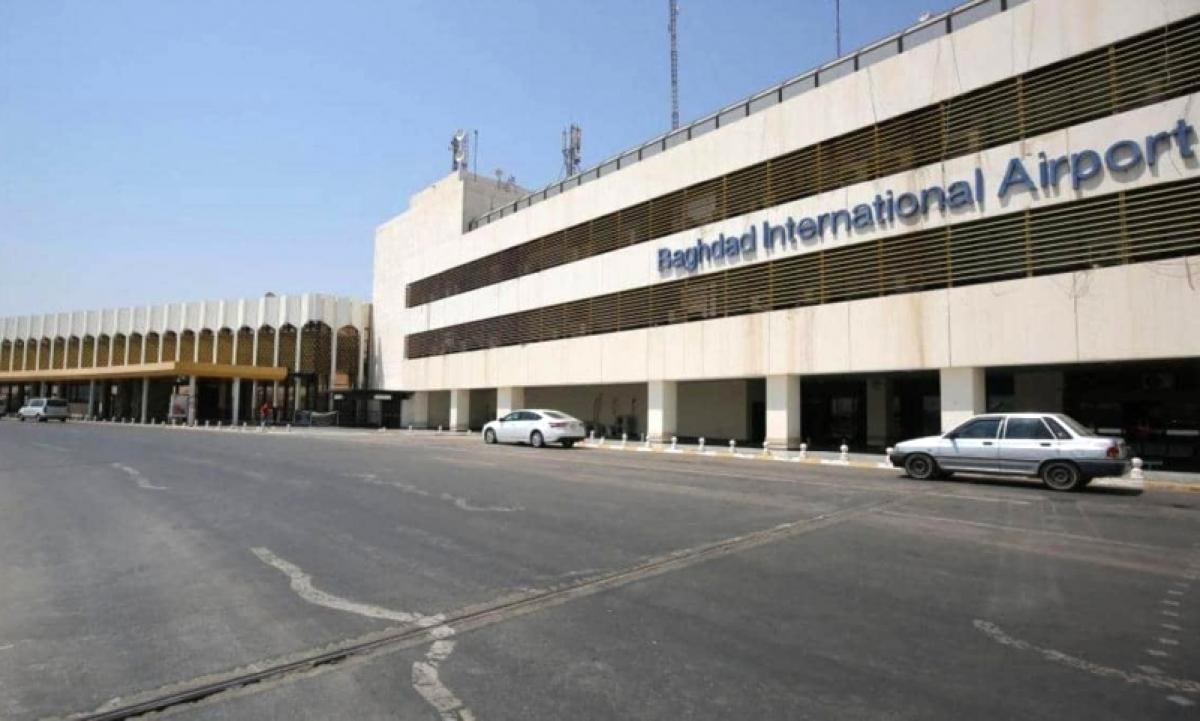 Sân bay quốc tế Baghdad - Ảnh GETTY