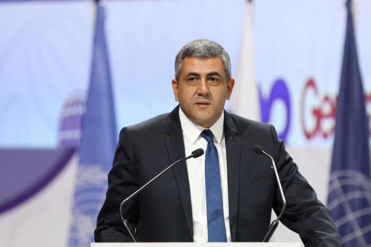 Tổng thư ký UNWTO Zurab Pololikashvili. Ảnh. UNWTO