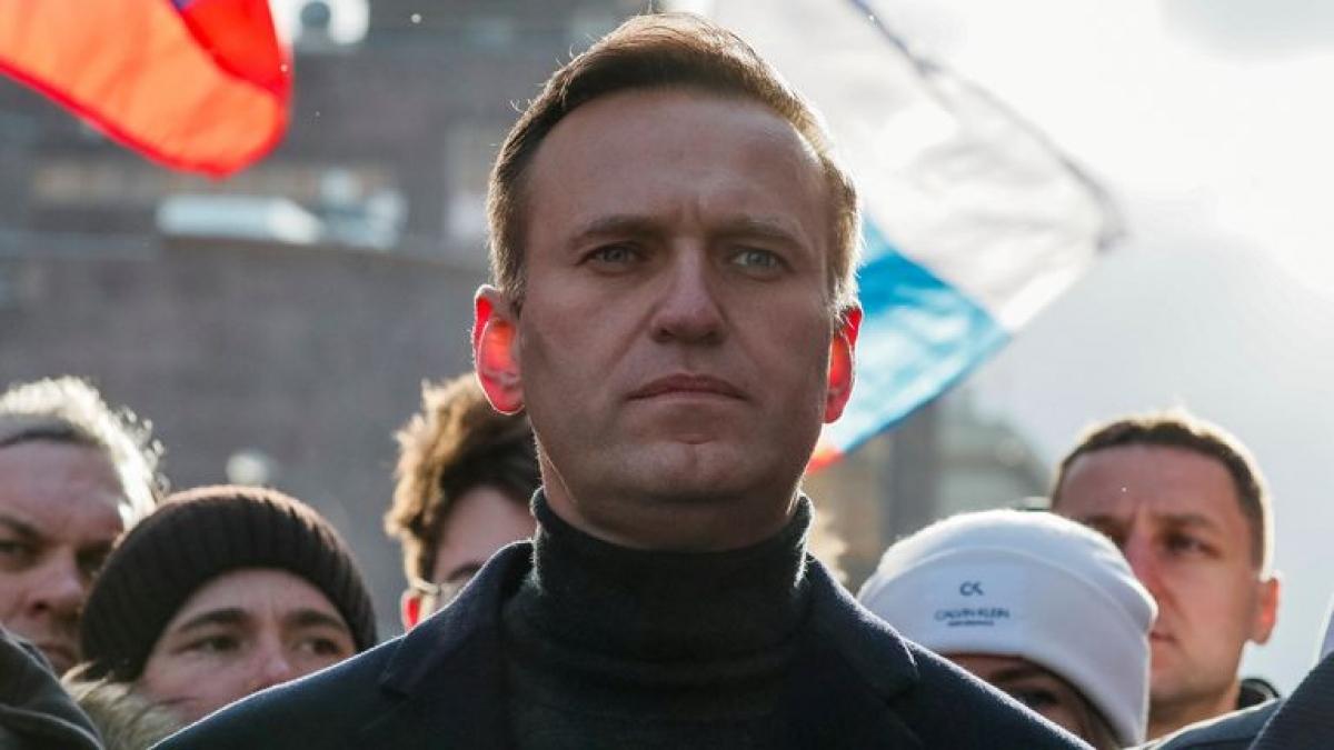 Chính trị gia đối lập NgaAlexei Navalny. Ảnh: Sky News