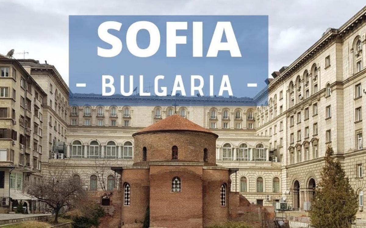 Thủ đô Sofia. Ảnh minh họa: YouTube.