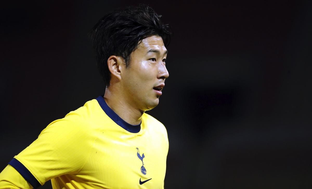 Son Heung-Min ghi bàn và kiến tạo giúp Tottenham giành chiến thắng 3-1 trước KF Shkendija (Ảnh: Getty).