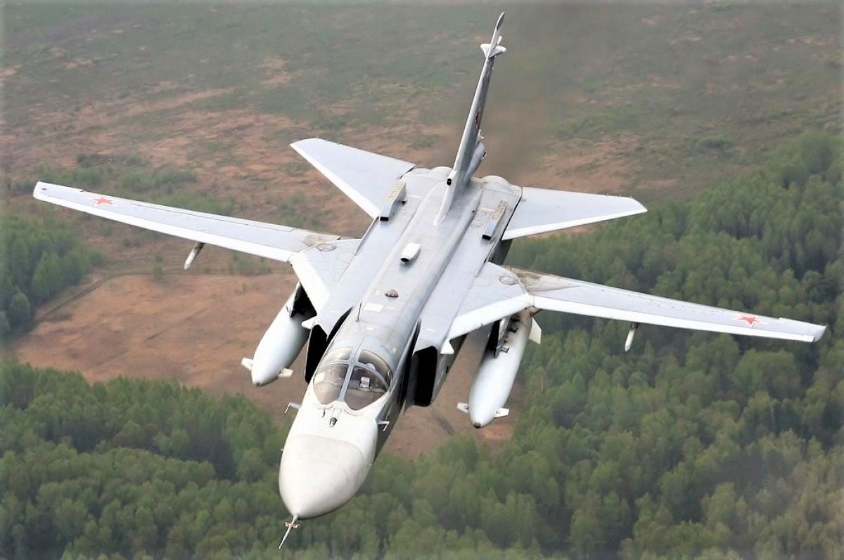 Su-24 được cho là phương tiện lý tưởng để sử dụng vũ khí hạt nhân chiến thuật; Nguồn: airforce.ru