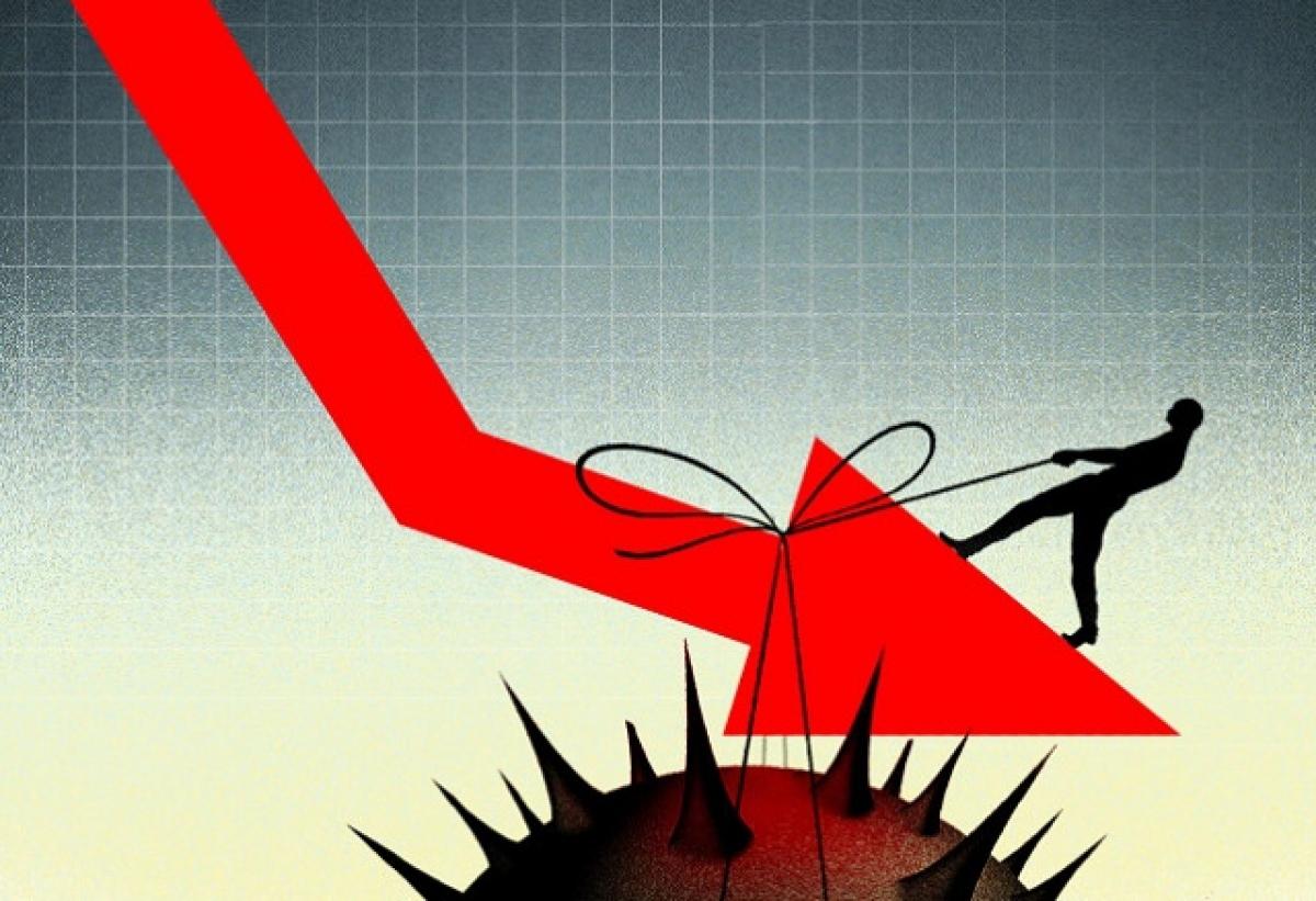 Nếu không khéo, kinh tế năm nay có thể rơi vào tăng trưởng âm (Ảnh minh họa: KT)