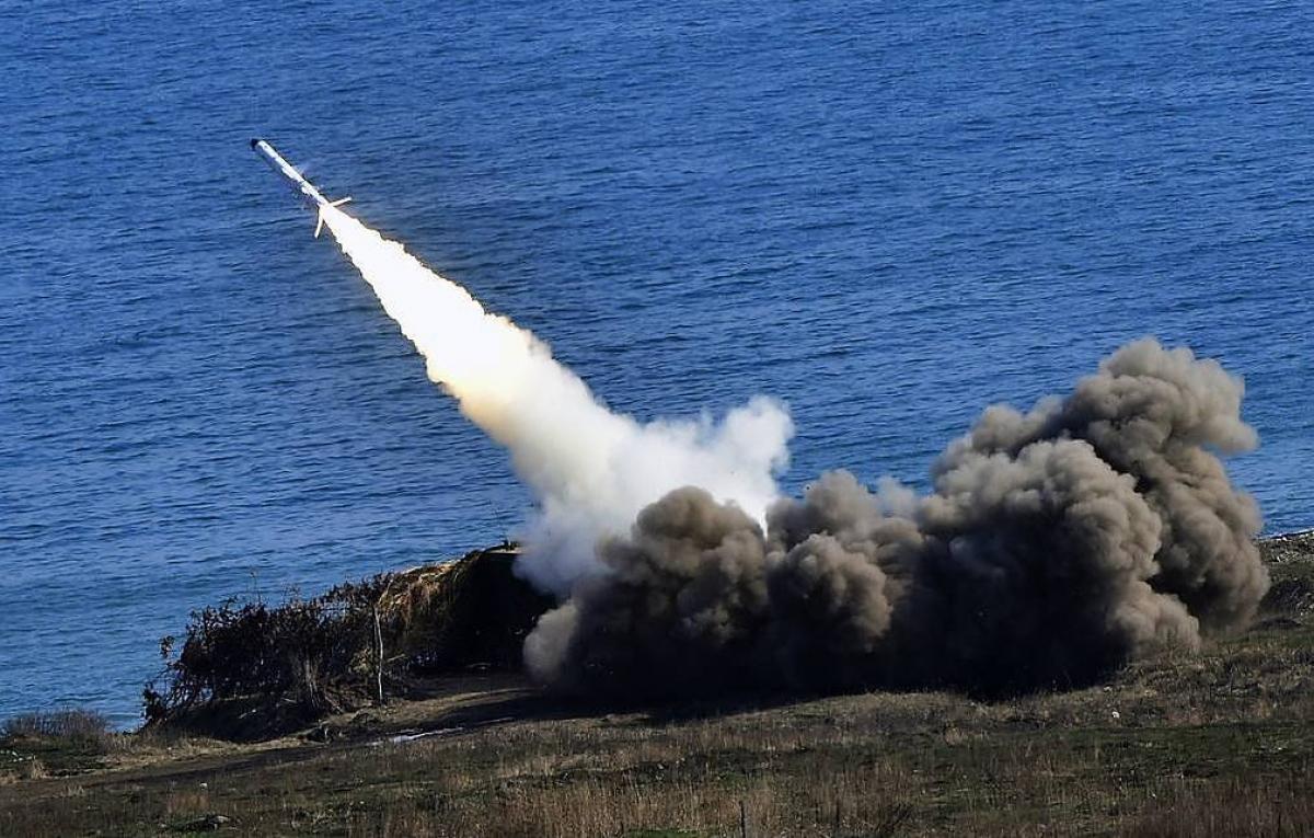 Hệ thống phòng thủ tên lửa ven bờ Bal. Ảnh: TASS