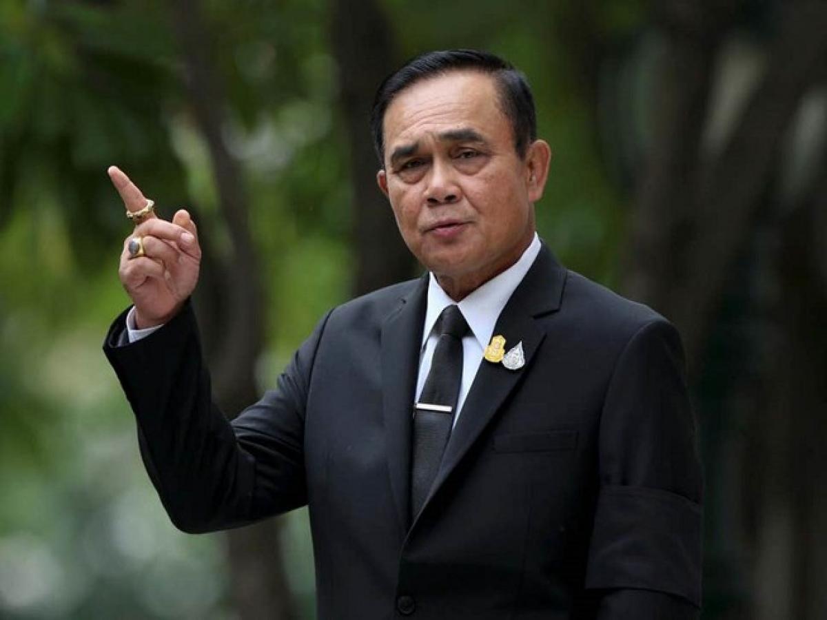 Thủ tướng Thái Lan Prayut Chan-o-cha thông qua vào hôm 16/9 để giúp cho 10 triệu người dân nước này chi tiêu trong quý 4 năm nay. Ảnh: REUTERS.