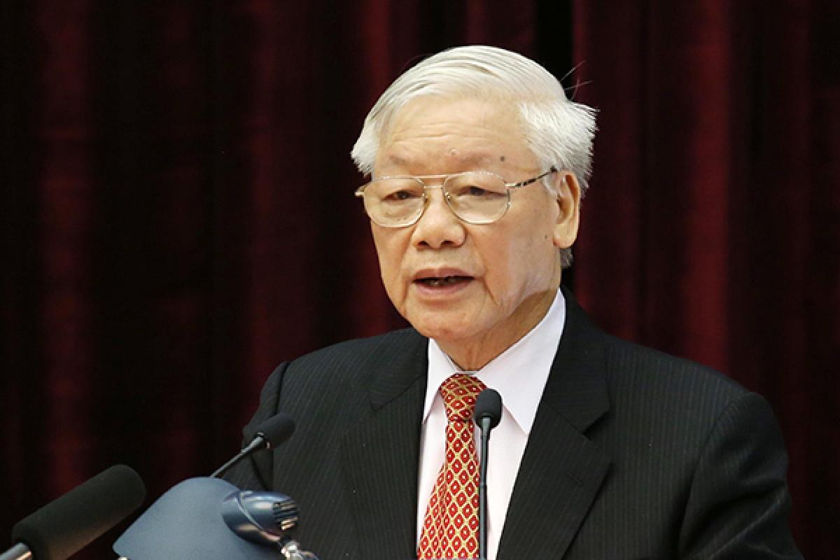 Tổng Bí thư, Chủ tịch nước Nguyễn Phú Trọng (Ảnh: VGP)