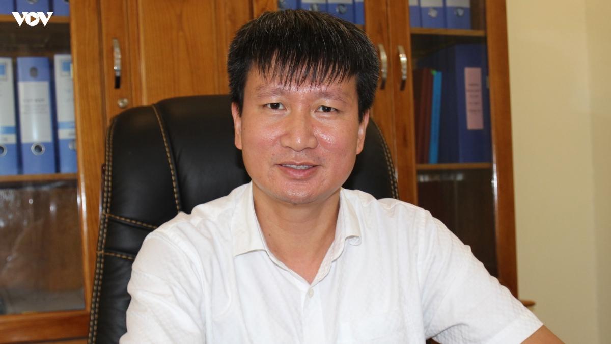 Ông Trần Huy Tuấn - Trưởng Ban Tổ chức Tỉnh ủy Yên Bái