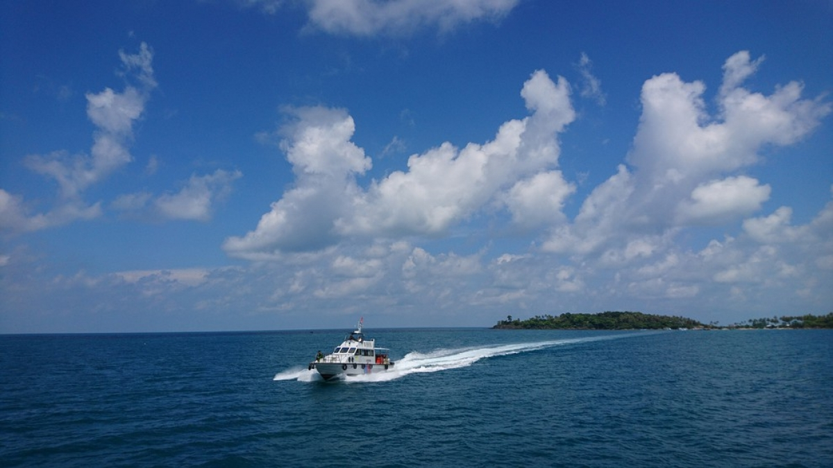 Biển Nam Du lộng lẫy.