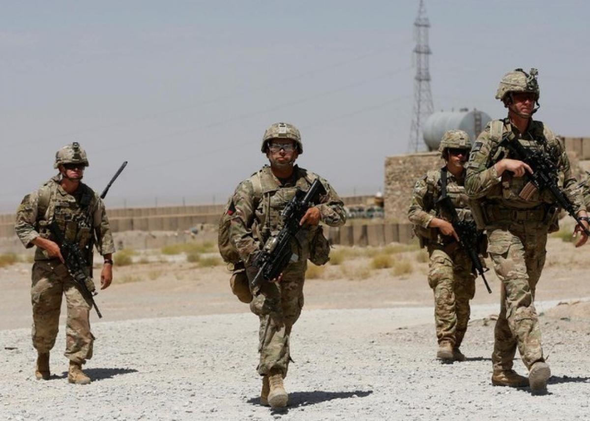 Quân đội Mỹ tại Afghanistan. Ảnh: Reuters.