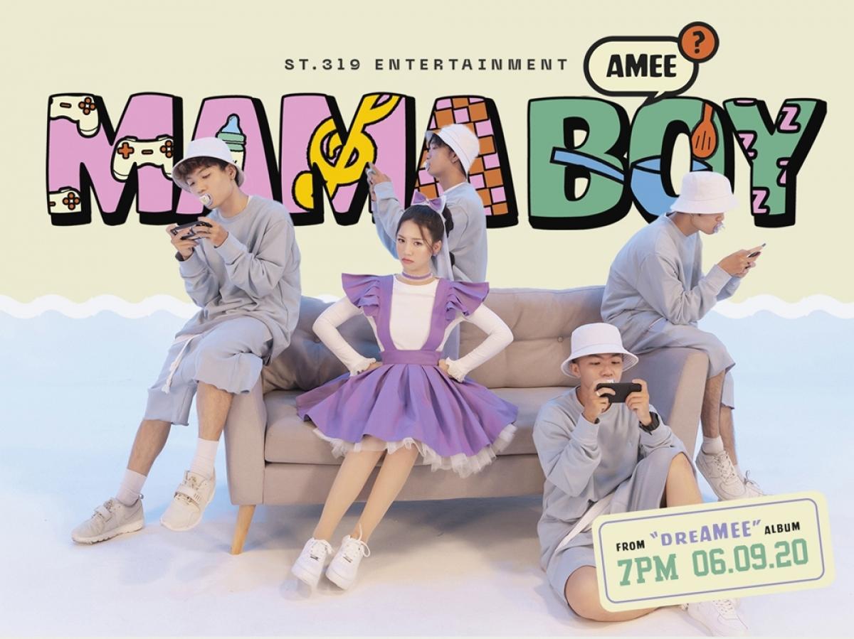 """MV """"Mama boy""""."""