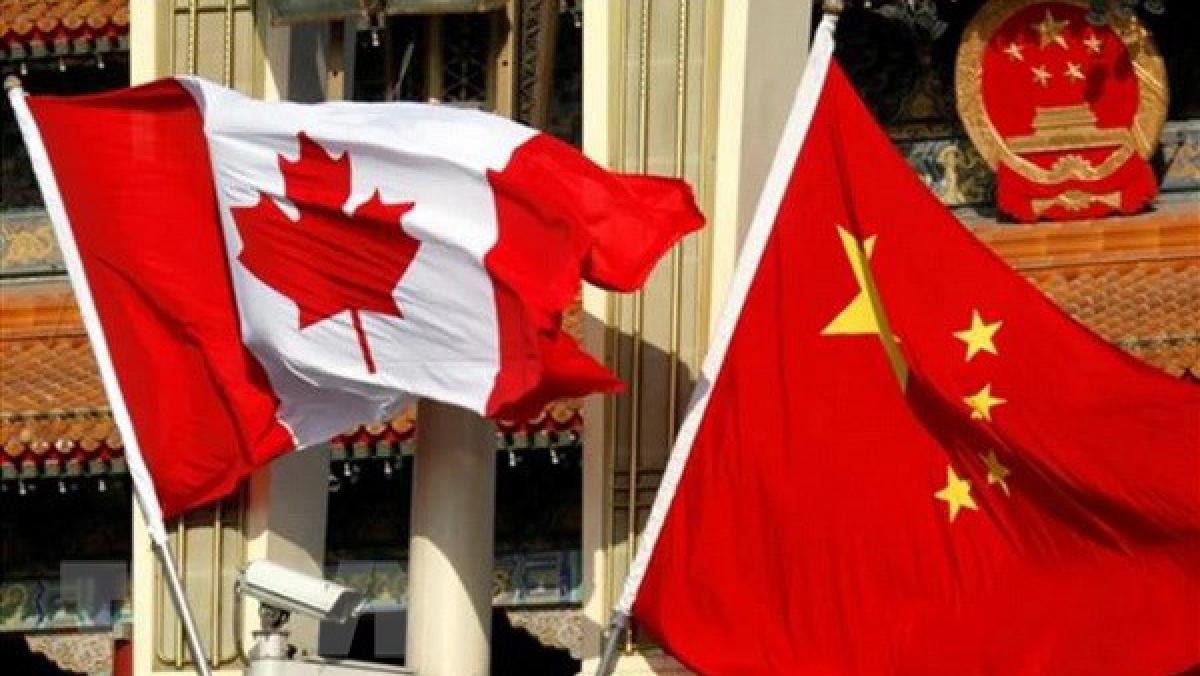 Canada dừng đám phán thương mại tự do với Trung Quốc.(Ảnh: South China Morning Post/TTXVN)