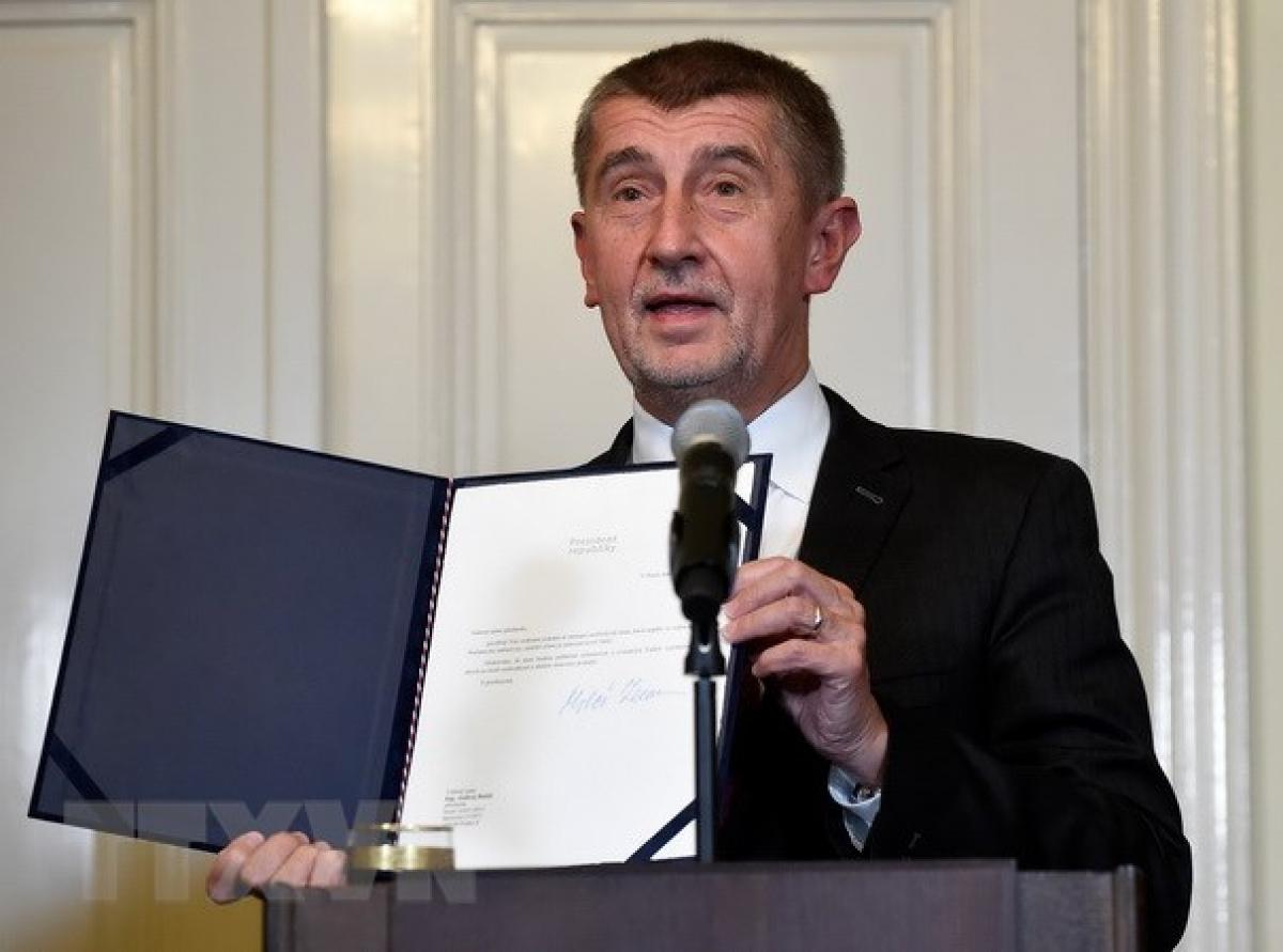 Thủ tướng Cộng hòa Séc, ông Andrej Babis. (Nguồn: AFP/TTXVN)