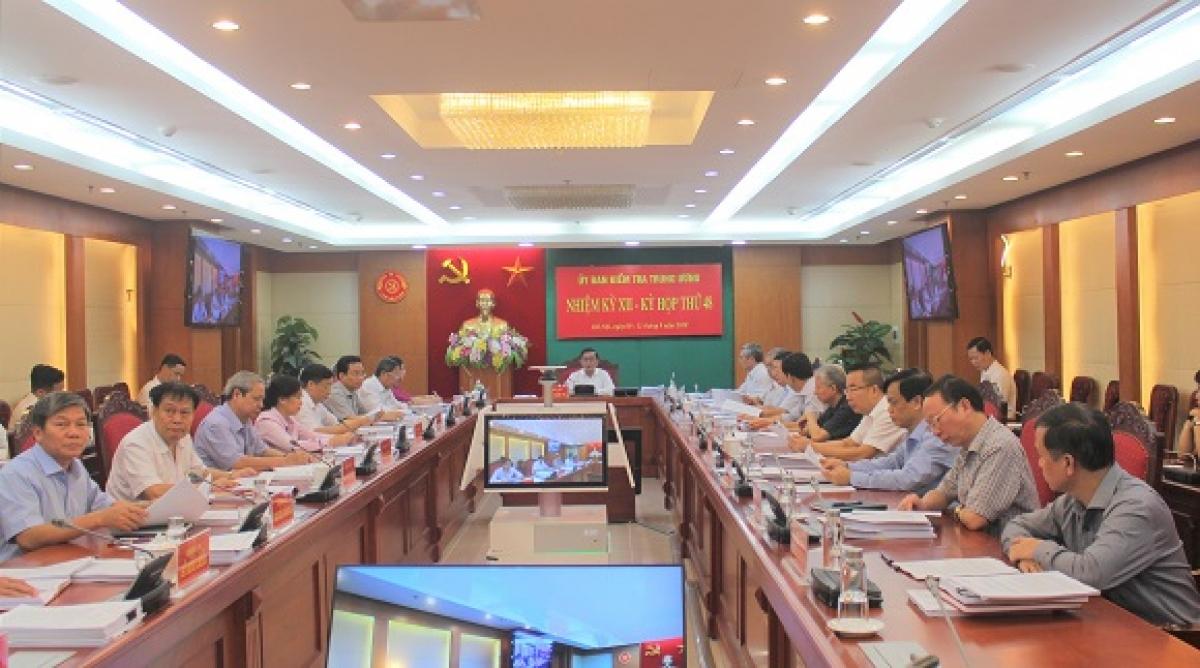 Kỳ họp thứ 48 của Ủy ban Kiểm tra Trung ương