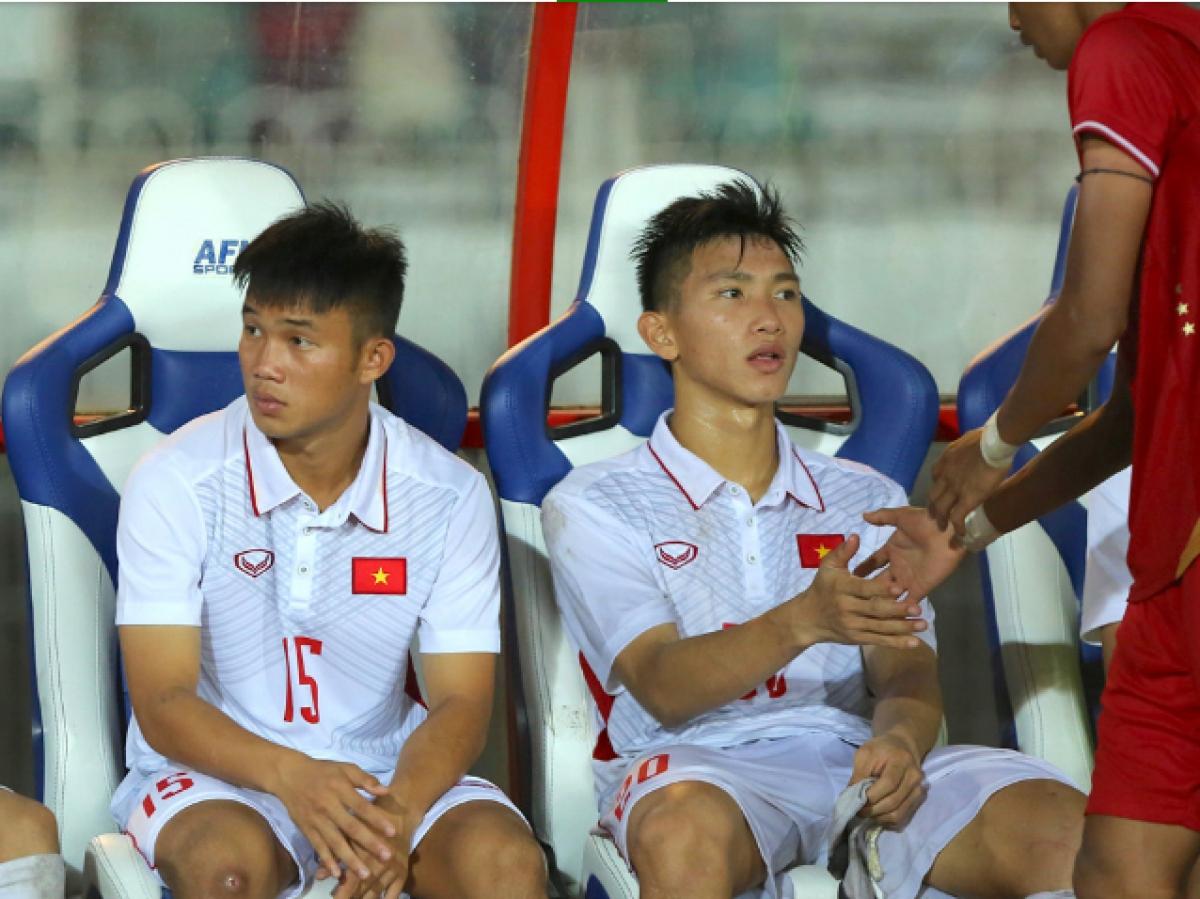 Văn Hậu thất vọng sau thất bại của U18 Việt Nam năm 2017. (Ảnh: SGGP).