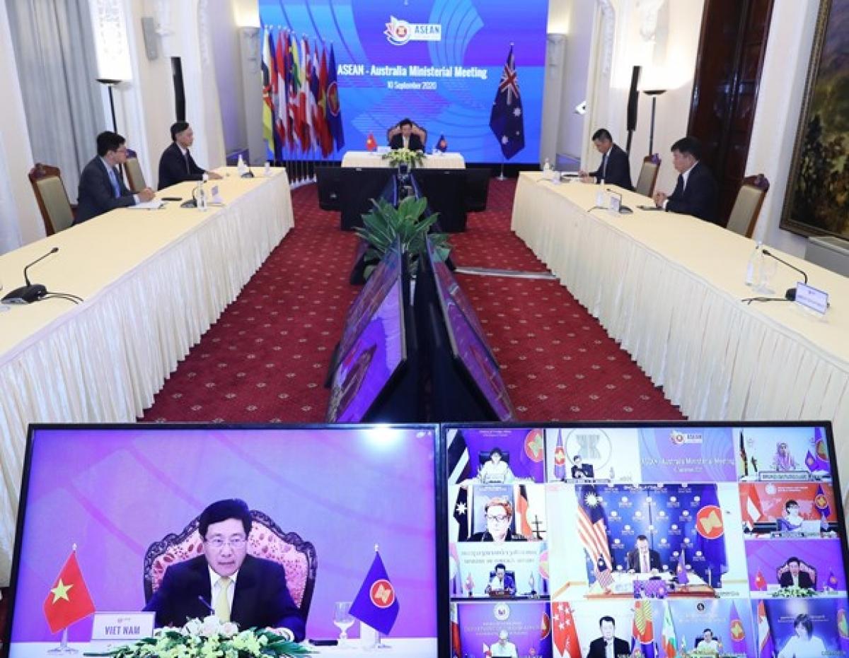 ASEAN-Australia Ministerial Meeting(Photo: VNA)