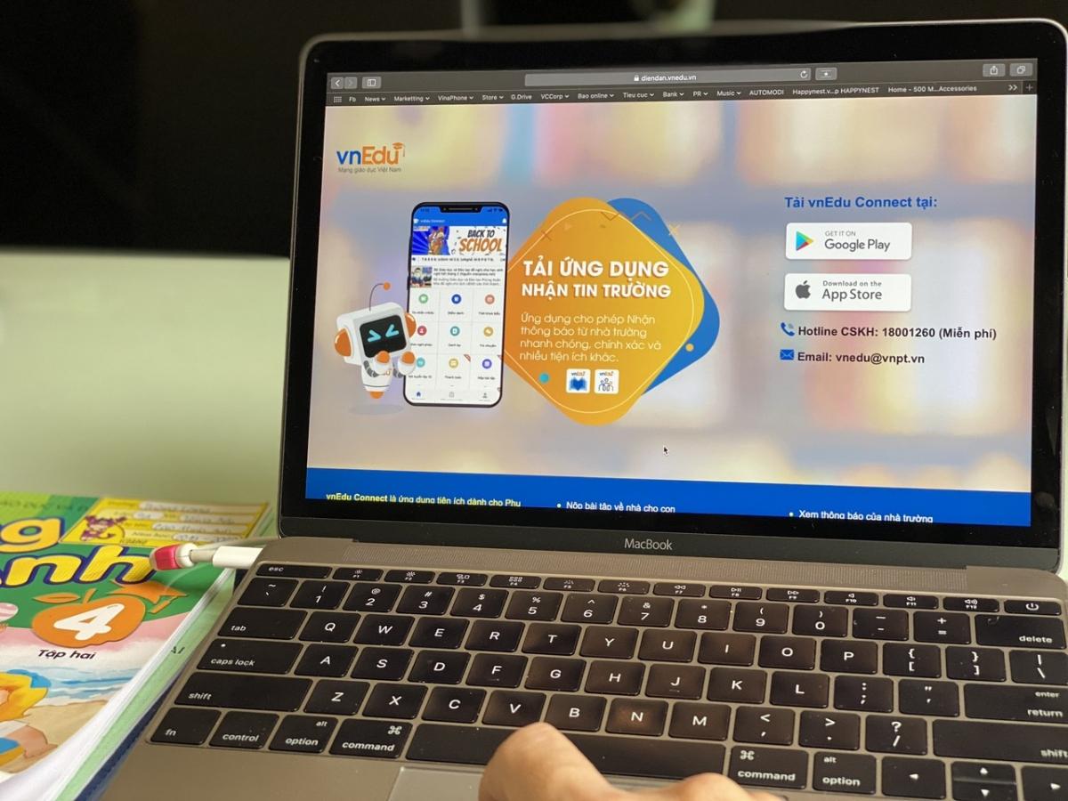 VnEdu rút ngắn khoảng cách giữa nhà trường và gia đình nhờ công nghệ 4.0