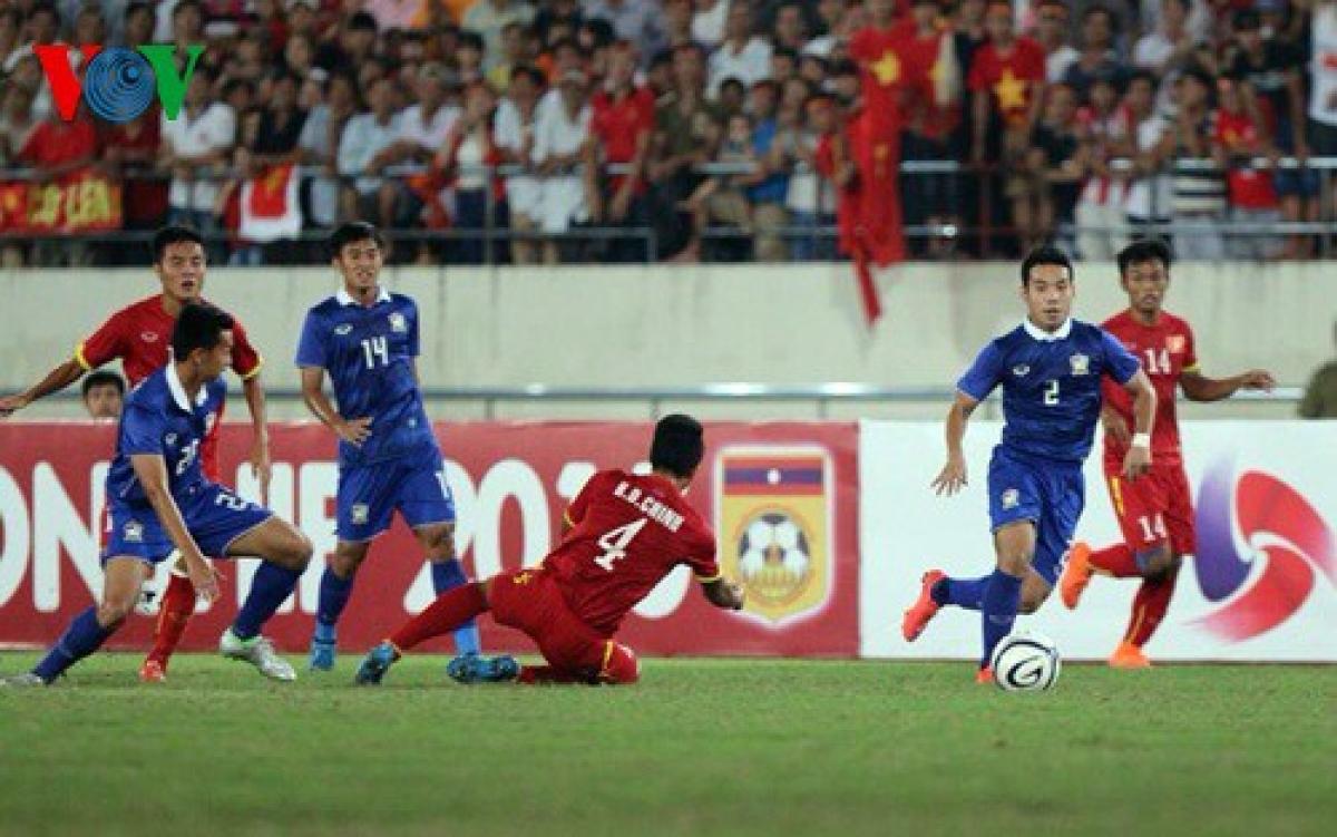 Hình ảnh từ trận U19 Việt Nam thua U19 Thái Lan 0-6 ngày này 5 năm trước.