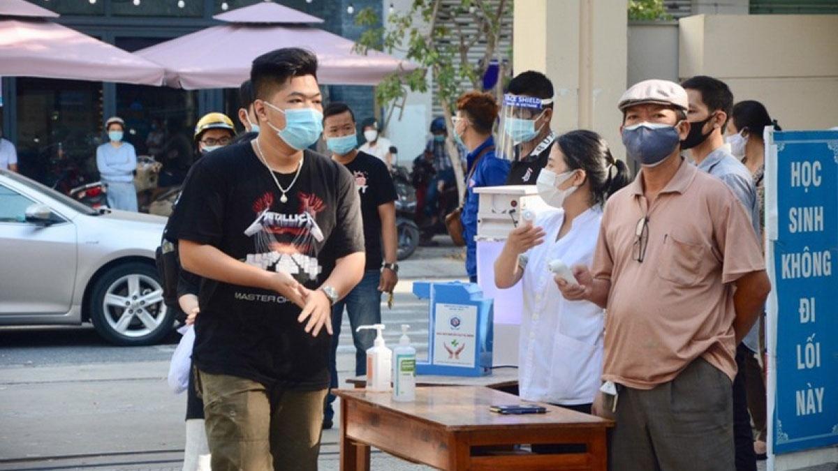 Thí sinh Đà Nẵng tham gia Kỳ thi tốt nghiệp THPT đợt 2.