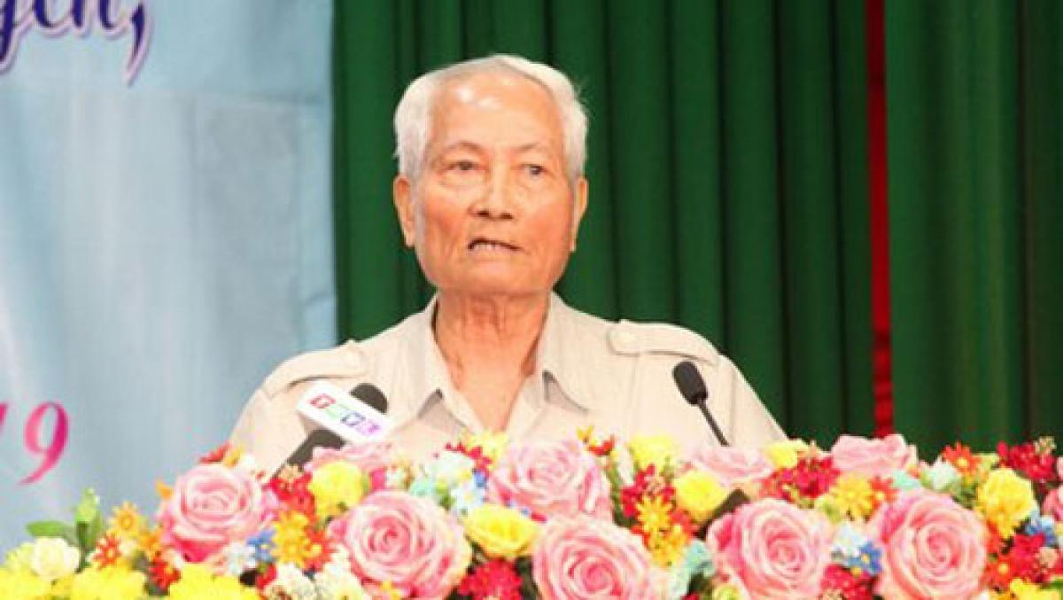 Ông Ngô Ngọc Bỉnh, Nguyên Chủ tịch Ủy ban MTTQ tỉnh Vĩnh Long.