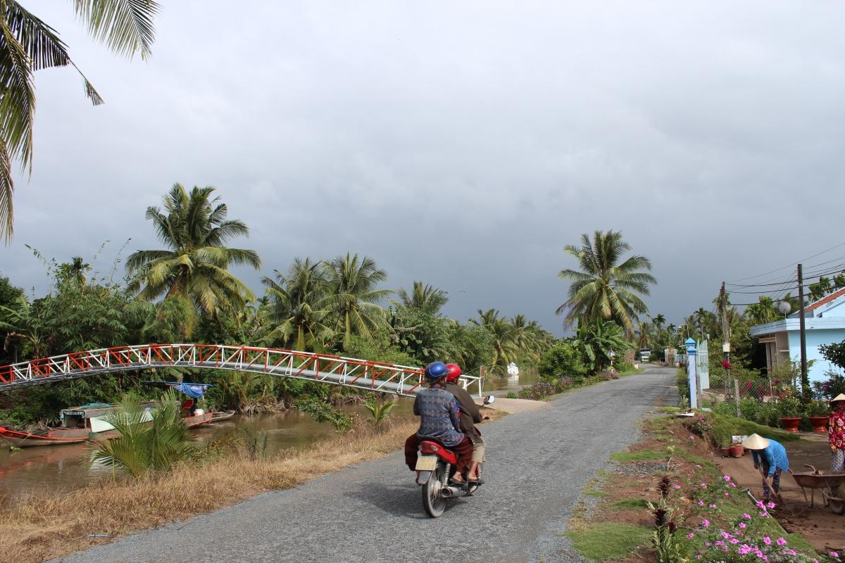 Giao thông nông thôn ở thành phố Cần Thơ ngày nay.