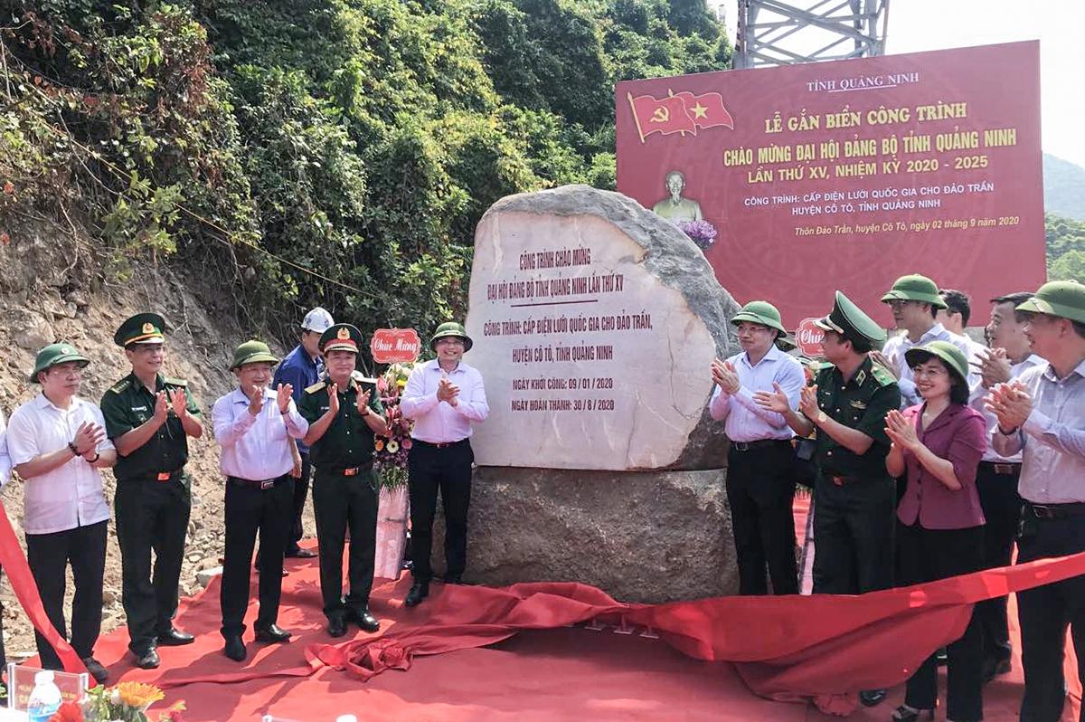 Quảng Ninh đang gấp rút hoàn thiện 10 công trình, dự án lớn chào mừng Đại hội.