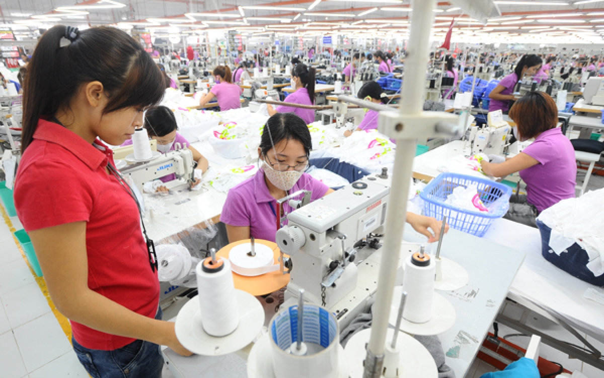 Nền kinh tế Việt Nam vẫn vững vàng bất chấp những thách thức do Covid-19. (Ảnh minh họa)