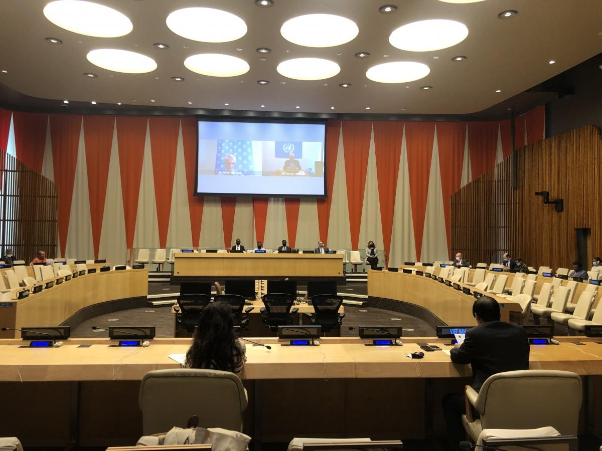 Hội đồng Bảo an họp về tình hình Yemen.