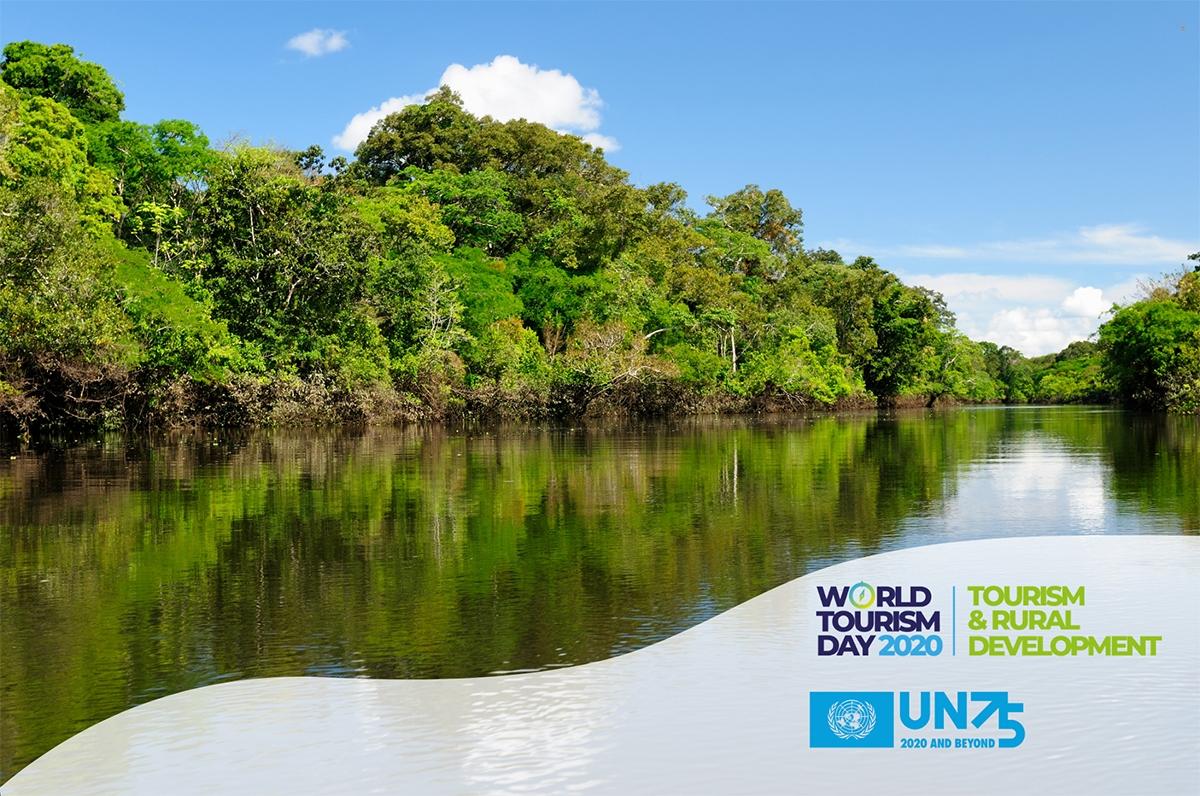 Thông điệp ngày Du lịch thế giới 2020: Du lịch và Phát triển nông thôn. Ảnh: UNWTO