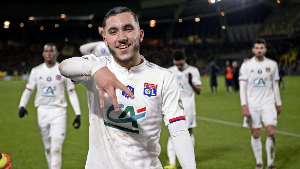 1. Rayan Cherki (Lyon) - Chỉ số tổng quan: 67