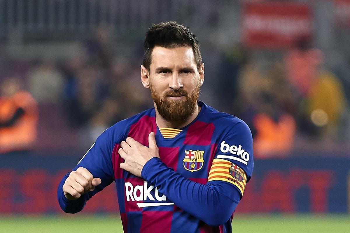 Tiền đạo: Messi (7.55 điểm)./.
