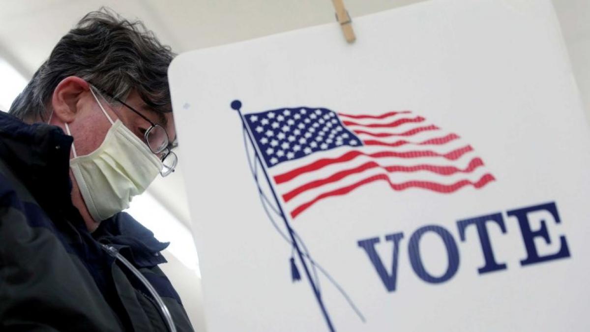 Gần 22 triệu cử tri Mỹ đã đi bỏ phiếu sớm. Ảnh: Reuters