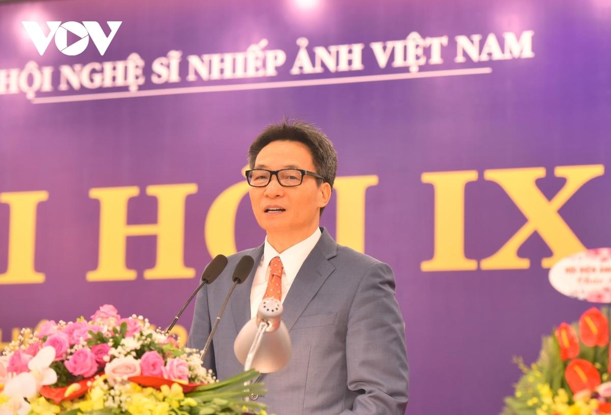 Phó Thủ tướng Võ Đức Đam phát biểu chỉ đạo tại đại hội.