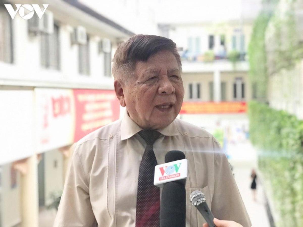 PGS.TS Trần Xuân Nhĩ, nguyên Thứ trưởng Bộ Giáo dục và Đào tạo.