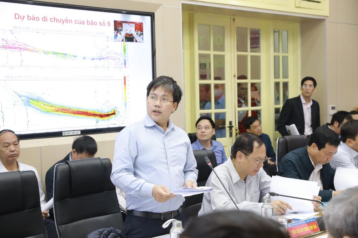 Ông Mai Văn Khiêm – Giám đốc Trung tâm Dự báo Khí tượng Thủy văn Quốc gia.
