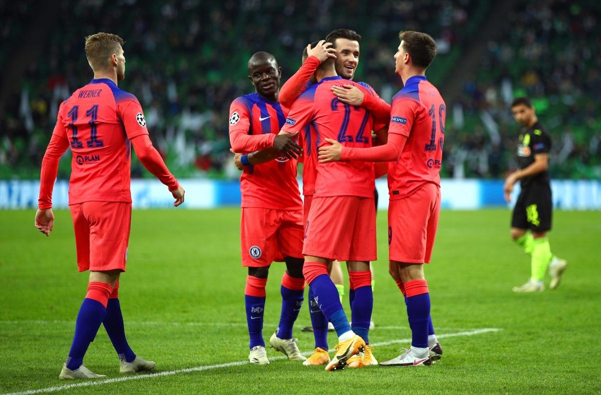 Chelsea giành chiến thắng 4-0 trước Krasnodar để đứng đầu bảng E.